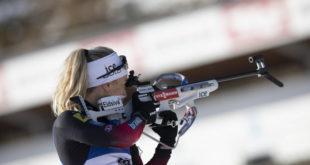 Tiril Eckhoff gewinnt den Sprint der Damen Foto © ManzoniIBU