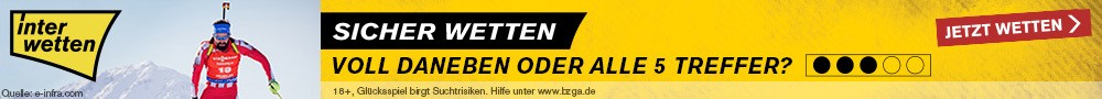 Wettangebot Biathlon News