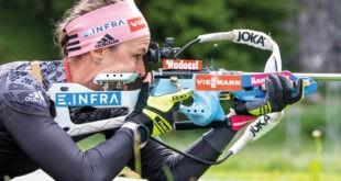 Deutsche Meisterschaften 2021  Deutschlands Skijger zu Gast im Hohenzollern Skistadion