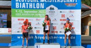 Deutsche Meisterschaften 2021: Vanessa Voigt und Matthias Dorfer gewinnen Verfolgung am Arber